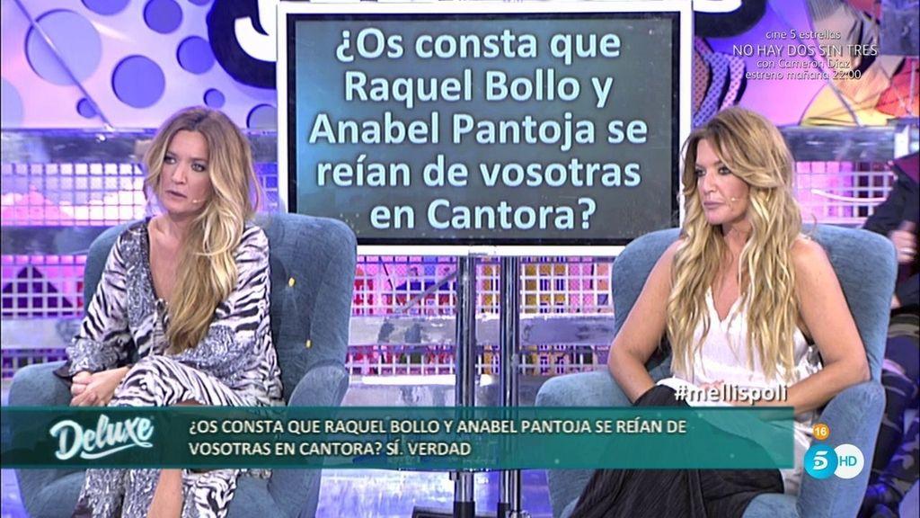 """Las mellis: """"Raquel Bollo y Anabel Pantoja se han reído de nosotras muchas veces"""""""