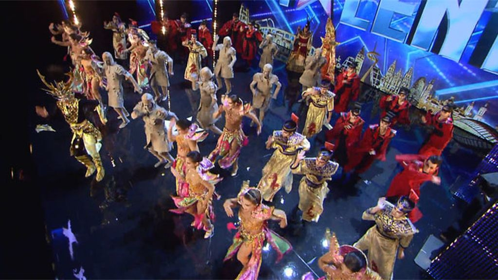 La puesta en escena del ballet Kebanna ¡impresionante!