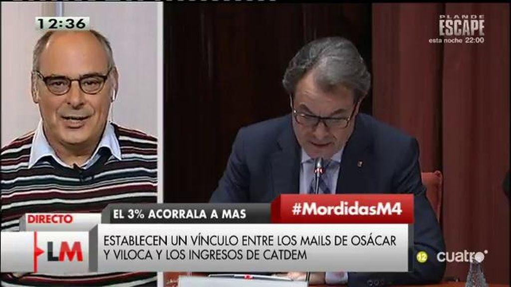 """J. Reixach, de Viloca y Osácar: """"Son los peones de una estructura mafiosa que ha estado gobernando Cataluña"""""""