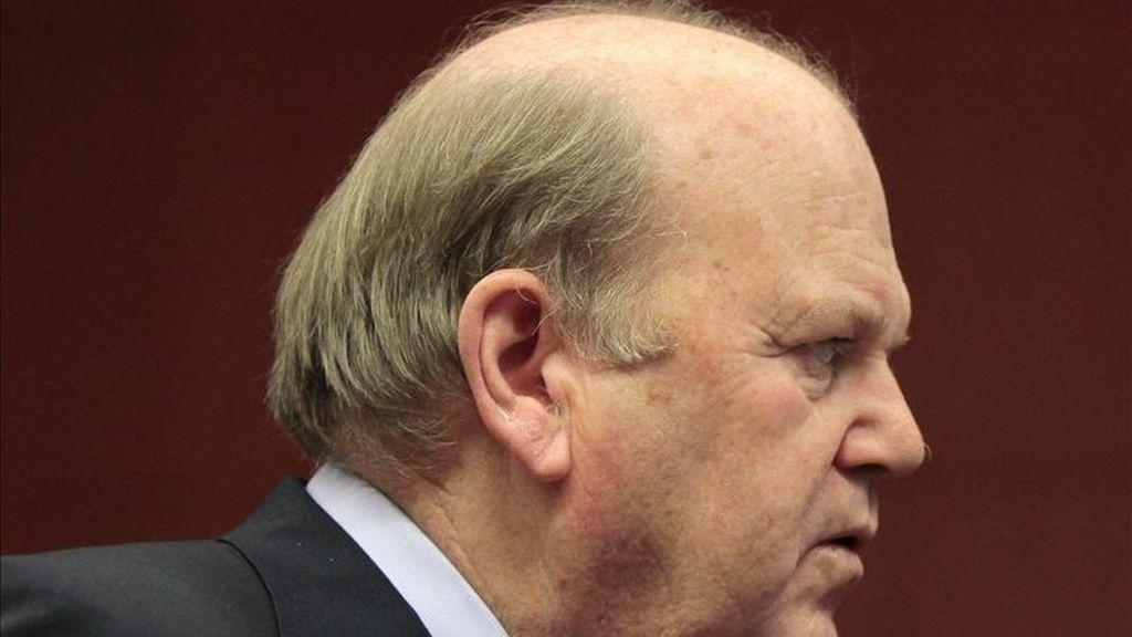 El ministro irlandés de Finanzas, Michael Noonan. EFE/Archivo