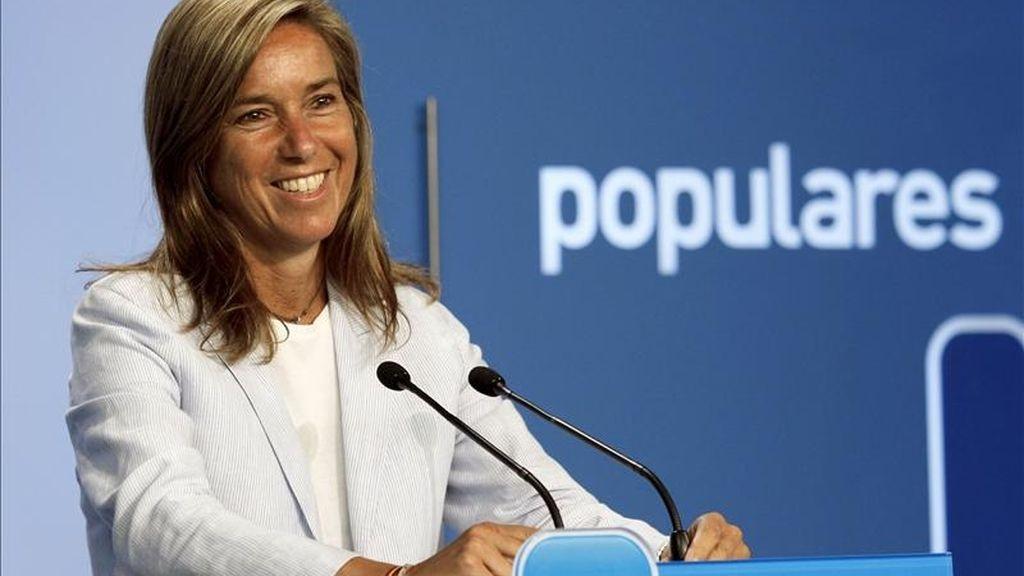 La vicesecretaria de Organización del Partido Popular (PP), Ana Mato. EFE/Archivo