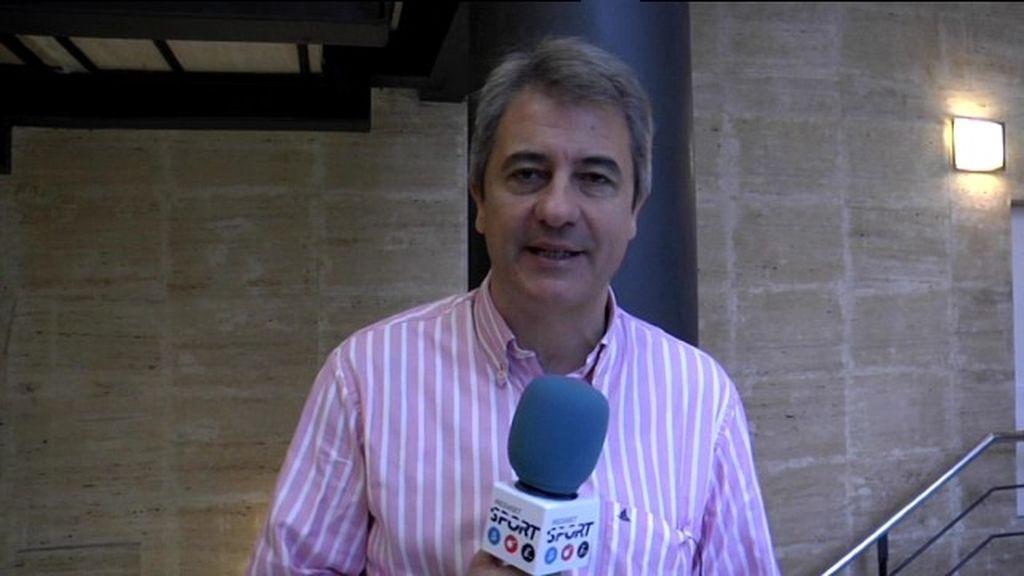 """Manolo Lama: """"La jornada de Champions va a condicionar para la Liga"""""""