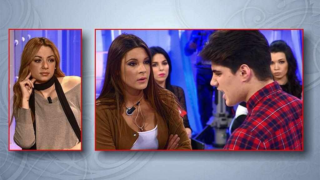 """Julen, muy enfadado con Alba: """"Deja de hablar porque no te creo"""""""