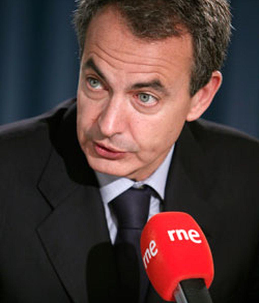 """Rodríguez Zapatero ha reconocido que España tiene ahora una tarea """"muy ambiciosa"""" por delante para recuperar el buen nombre y la comercialización de los productos españoles. FOTO: EFE"""