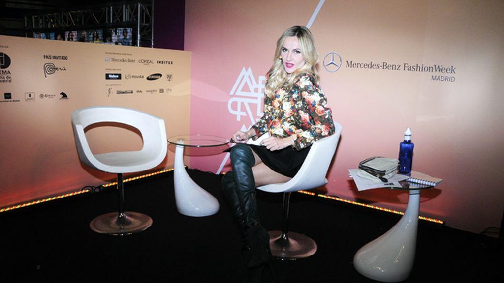 Clara Courel será la encargada de entrevistar para Mercedes Benz Fashion Week a todos los invitados a los desfiles