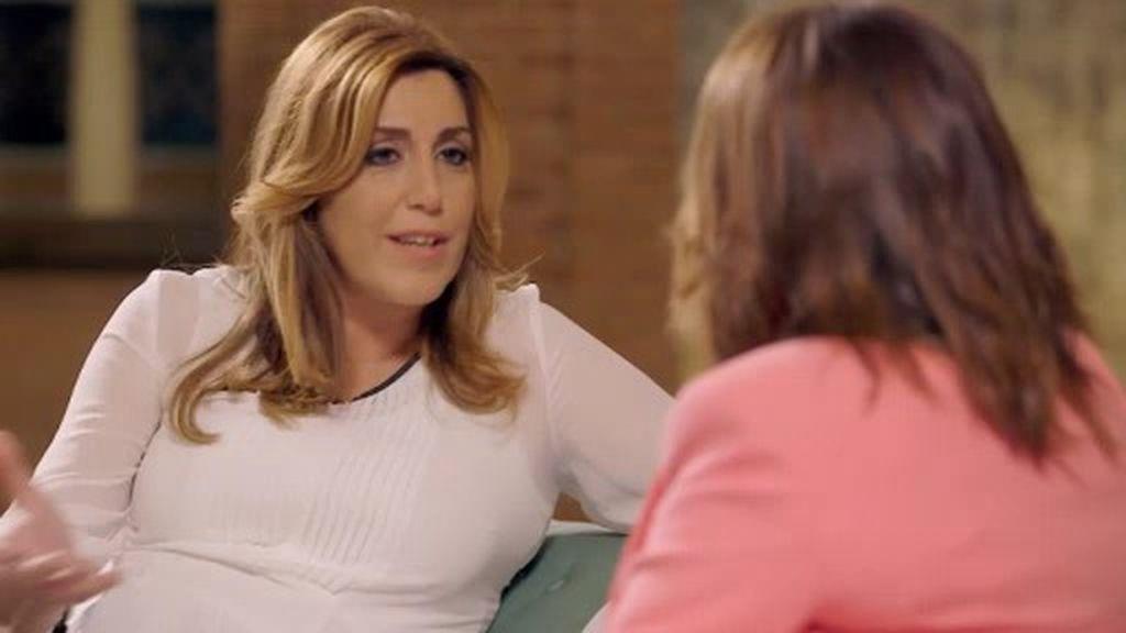 """Susana Díaz: """"Empecé a trabajar a los 15 años para ayudar en casa"""""""