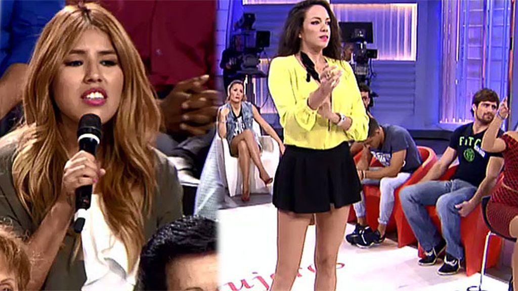 Chabelita valora el look de Samira