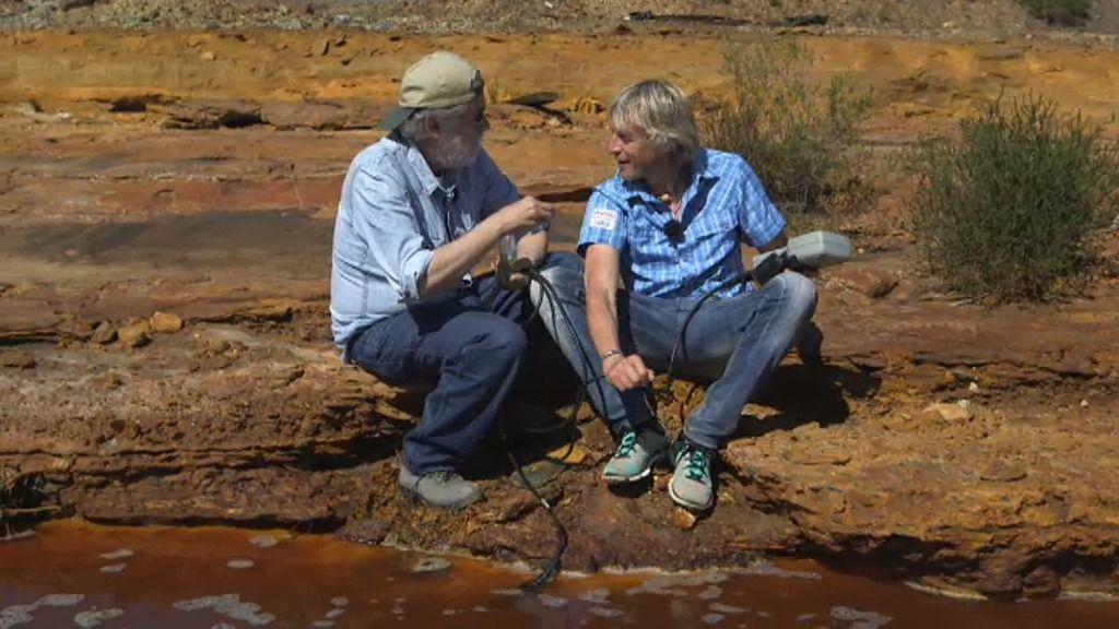Ricardo Amils, un microbiólogo, nos cuenta la composición del río Tinto