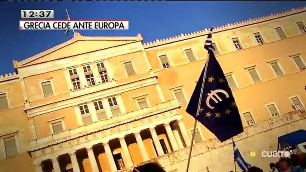¿Cuál es la situación de la economía griega con el corralito?