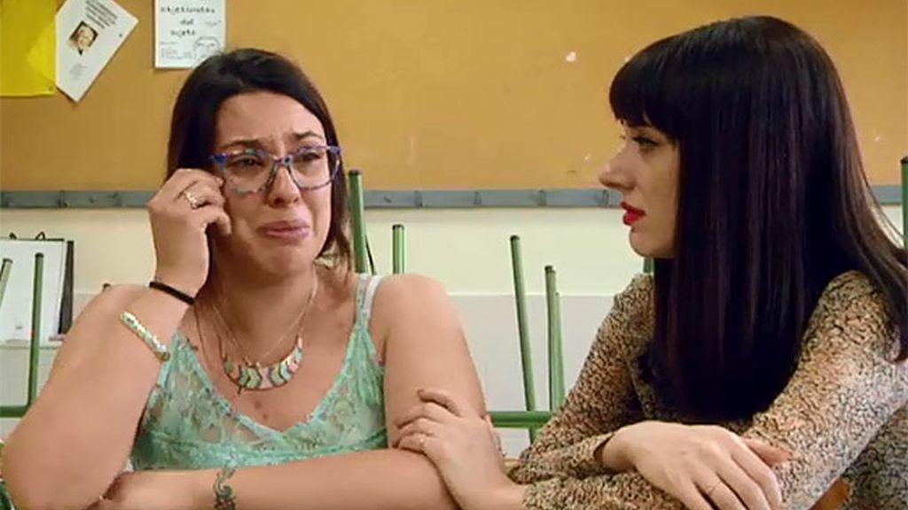 Cristina se derrumba con Natalia Ferviú al contarle su historia de la infancia