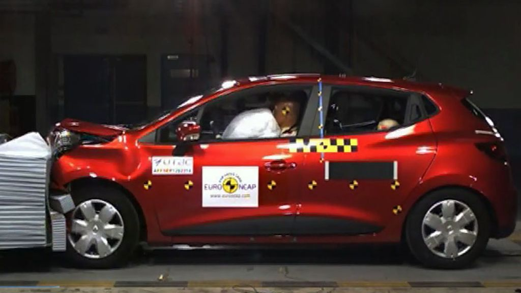 Renault Clio - crash test