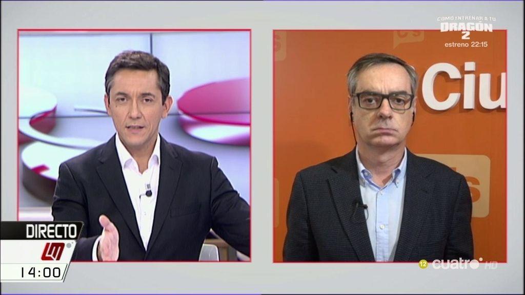 """Villegas: """"Hay que perseguir el fraude y a los defraudadores antes de subir los impuestos """""""