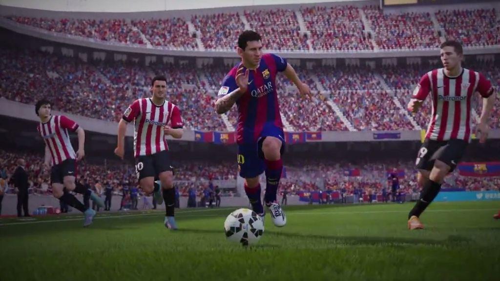Así es el FIFA16: la maravilla de Messi contra el Athletic Club, hecha videojuego