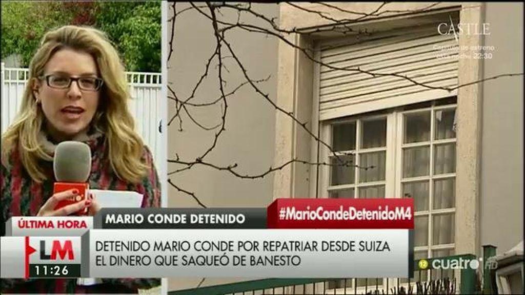 Detenido Mario Conde