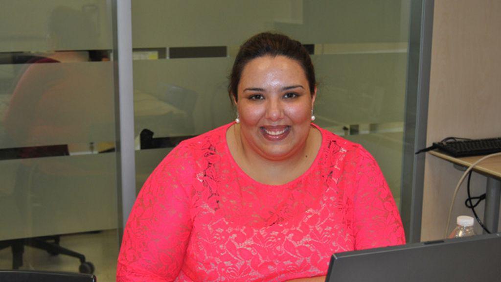 Lorena visita telecinco.es