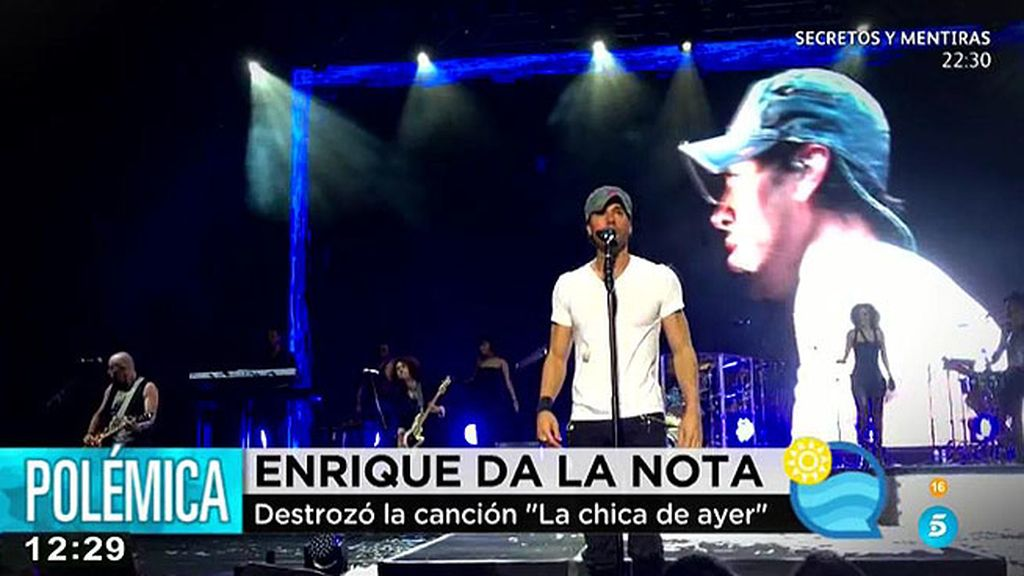 Enrique Iglesias da la nota