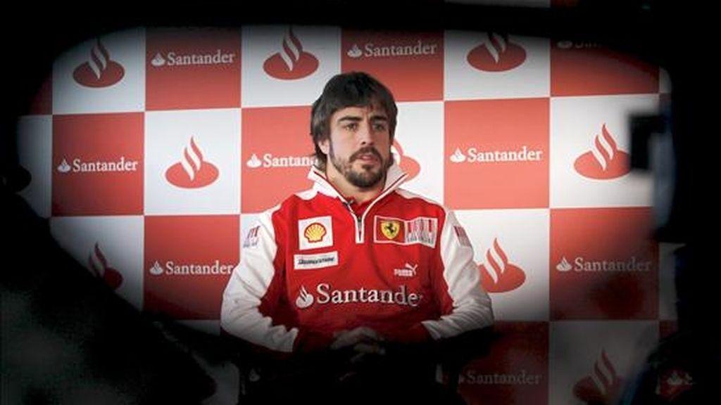 El subcampeón del mundo de Fórmula Uno, Fernando Alonso. EFE/Archivo