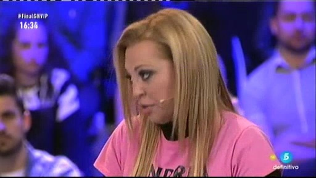 """Belén, sobre Isabel Pantoja: """"Una persona con cinco mansiones no tiene necesidad"""""""