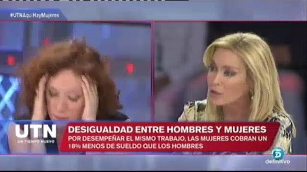 Paloma Zorrilla 'enciende' el plató con su opinión sobre el sueldo de las mujeres