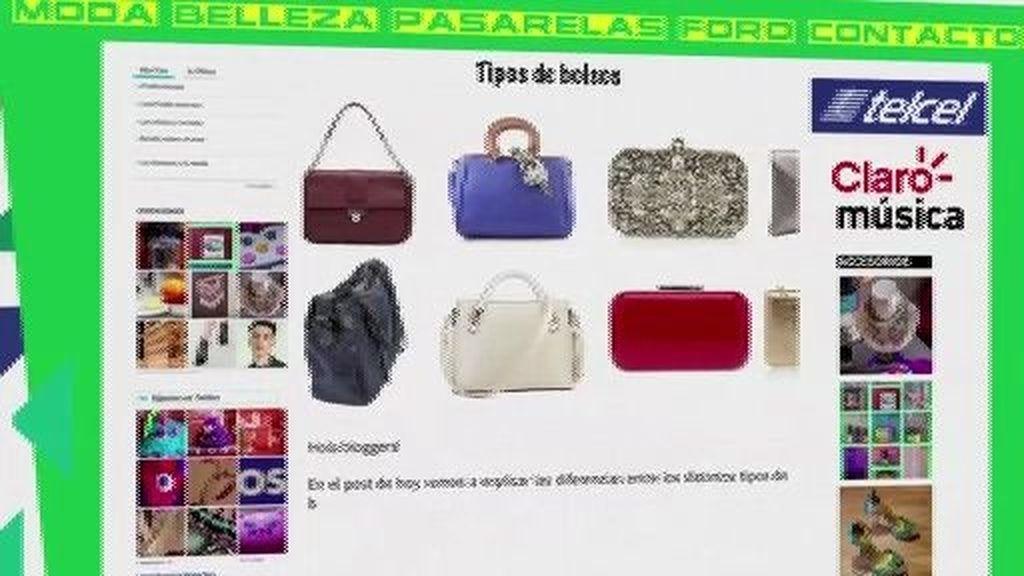¿Sabes como se llama cada tipo de bolso?