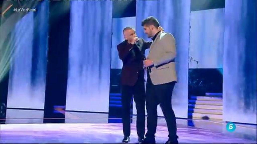 La actuación de Eros Ramazzoti y Marcos