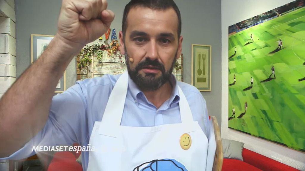 T01xP165: 'Guiso de salmonetes, macedonia 'Mata Hari' y 'guarrindongadas'