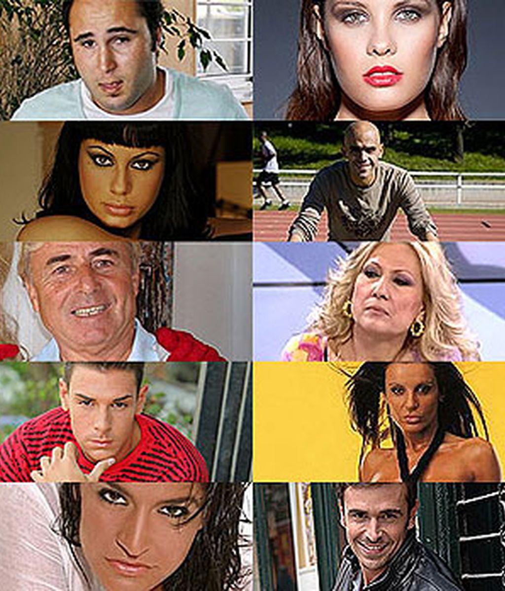 Los concursantes de 'Supervivientes 2011'