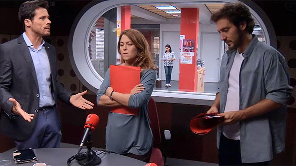 Tensión máxima entre Sergio y Lucía