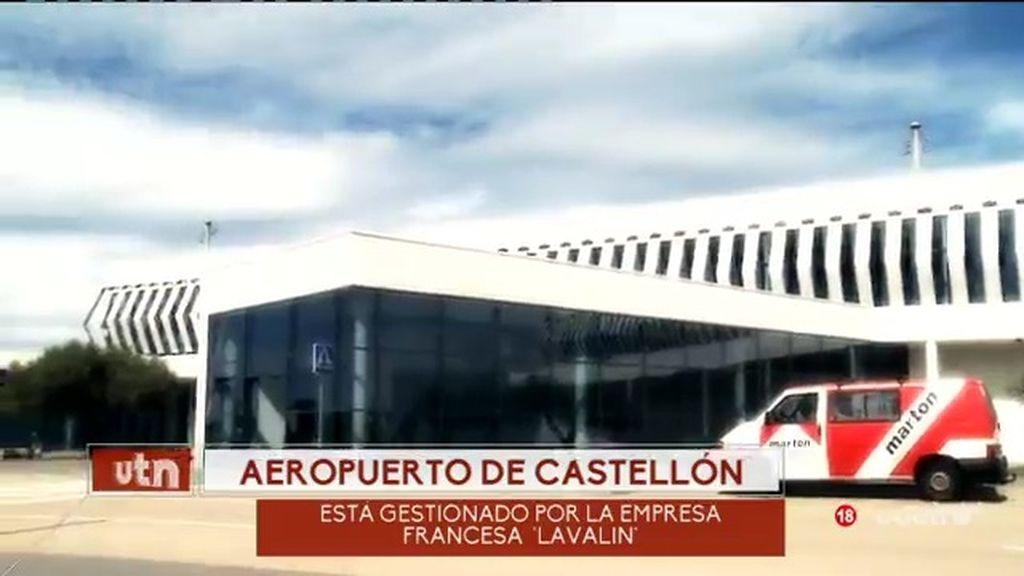 El equipo de 'UTN' asiste a la llegada del primer vuelo al aeropuerto de Castellón
