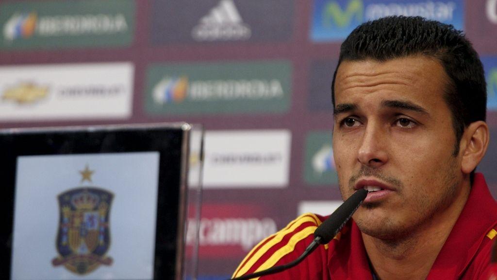 Pedro Rodriguez, durante una rueda de prensa