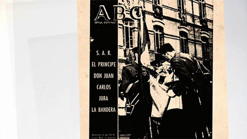 La soledad de Juan Carlos en su jura de bandera