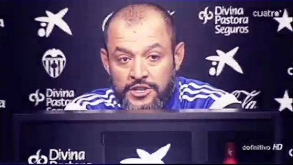 """Nuno: """"El único objetivo que tenemos en mente es ganar el partido y sumar 3 puntos"""""""