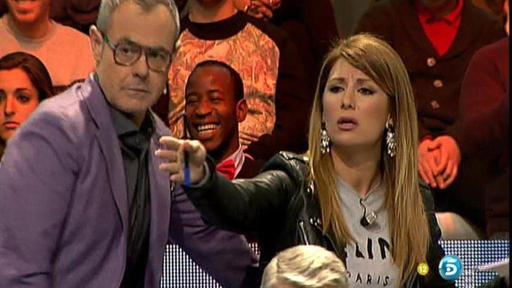 Nagore y Florentino, a punto de llegar a las manos en el plató del debate de GH VIP