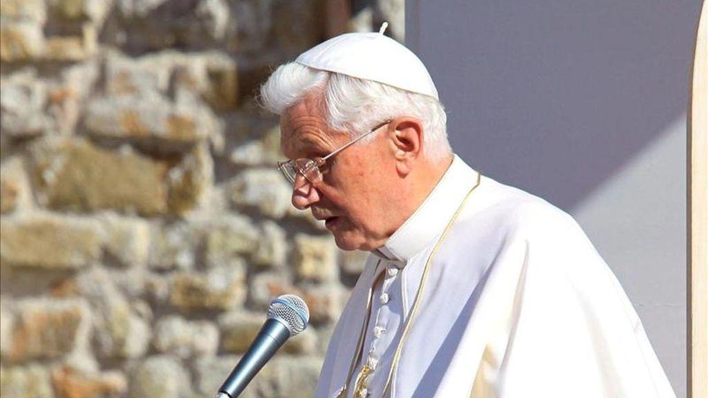 El papa Benedicto XVI. EFE/Archivo