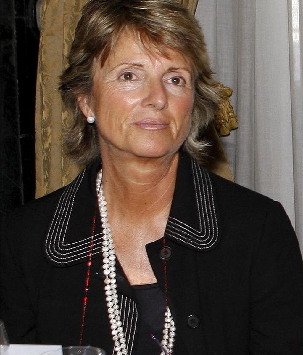 Fotografía de archivo de María Jesús Figa, ex subsecretaria de Asuntos Exteriores. EFE