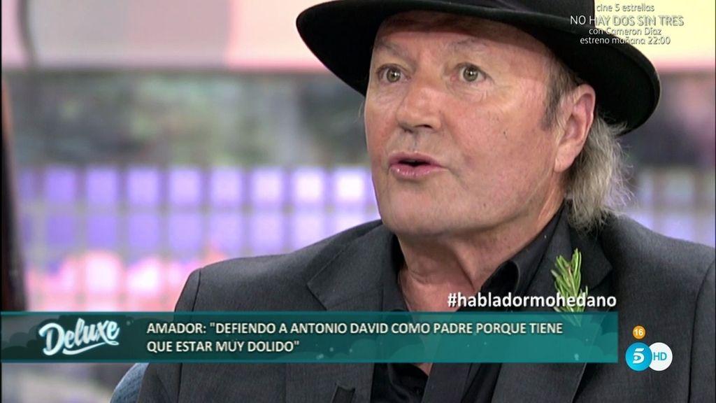 """Amador: """"Convencieron a Rocío de hacer una gala cuando estaba muy enferma"""""""