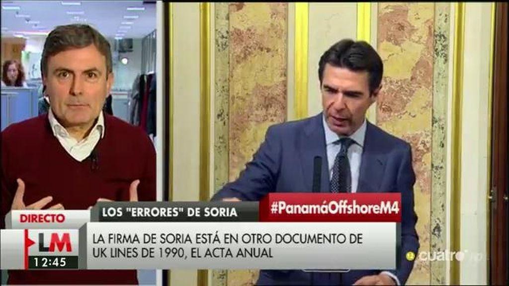 """Pedro Saura: """"Quien ha tenido una sociedad en un paraíso fiscal demuestra insolidaridad y con esos principios no puede ser ministro"""""""