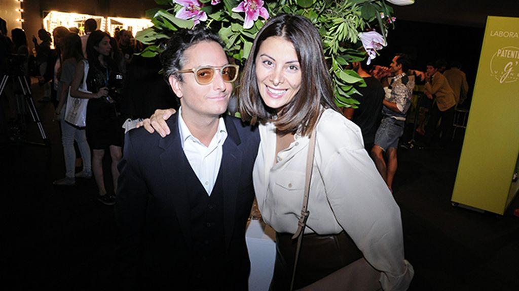 Josie junto a la maravillosa Parsida Aboud