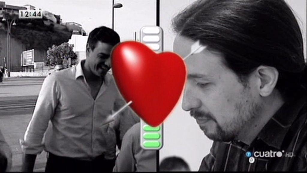 Test de compatibilidad política entre Pedro Sánchez y Pablo Iglesias