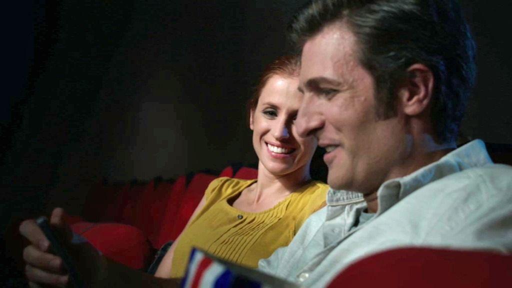 ¡Ataque de rabia en un cine!