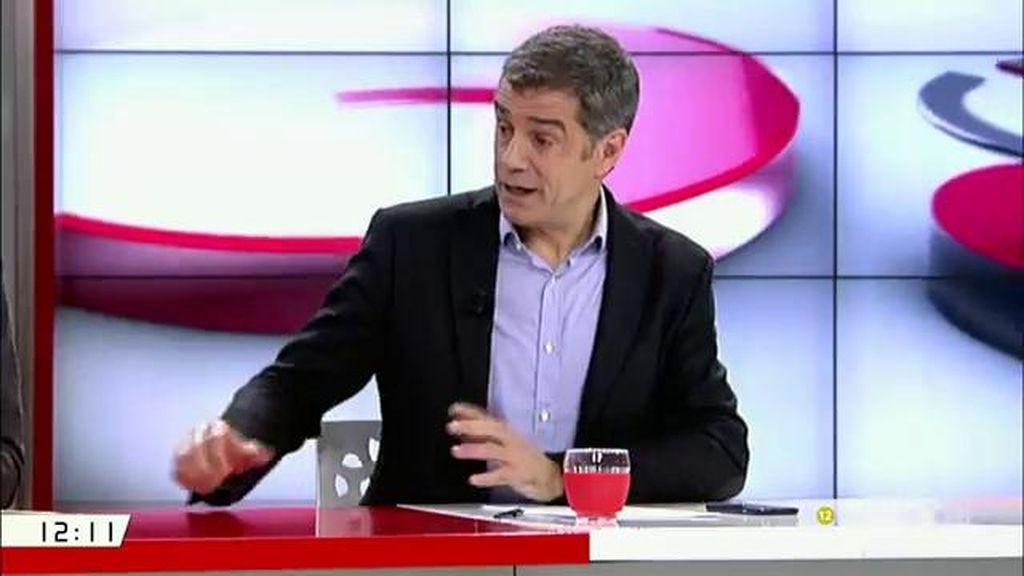 """Toni Cantó: """"Afrontamos una campaña difícil por culpa de PP y Podemos"""""""