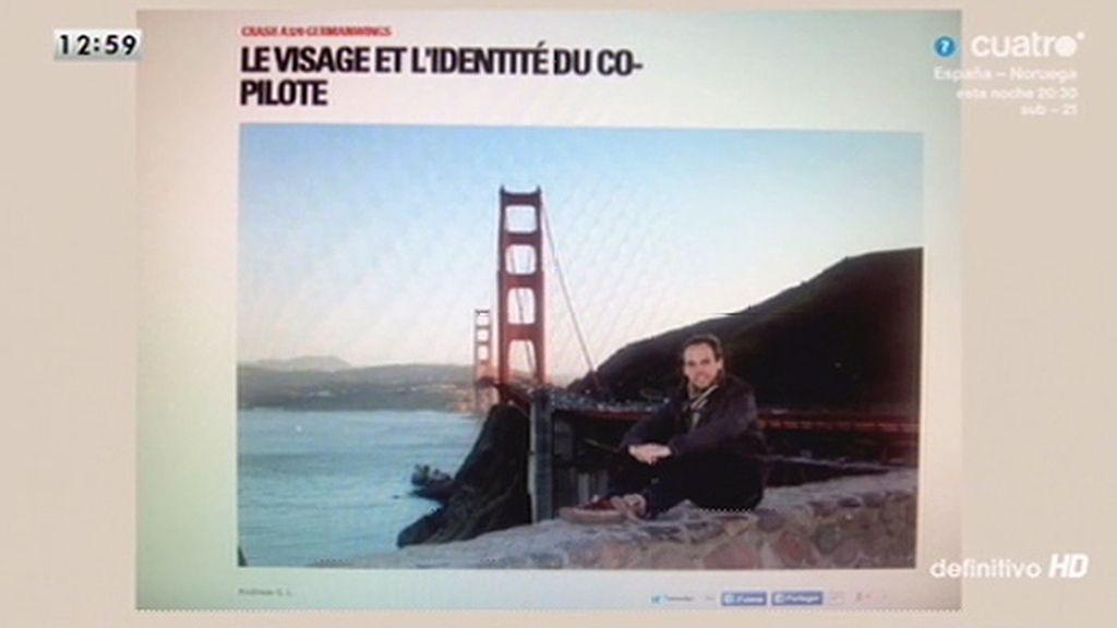 'París Match' publica una foto del copiloto