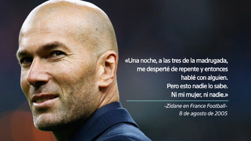 """Zinedine Zidane volvió a la selección francesa tras una visión """"mística e irracional"""""""
