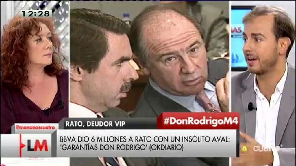 """J. Dorado, de Rato: """"No se puede extrapolar algo personal con la política de un gobierno"""""""