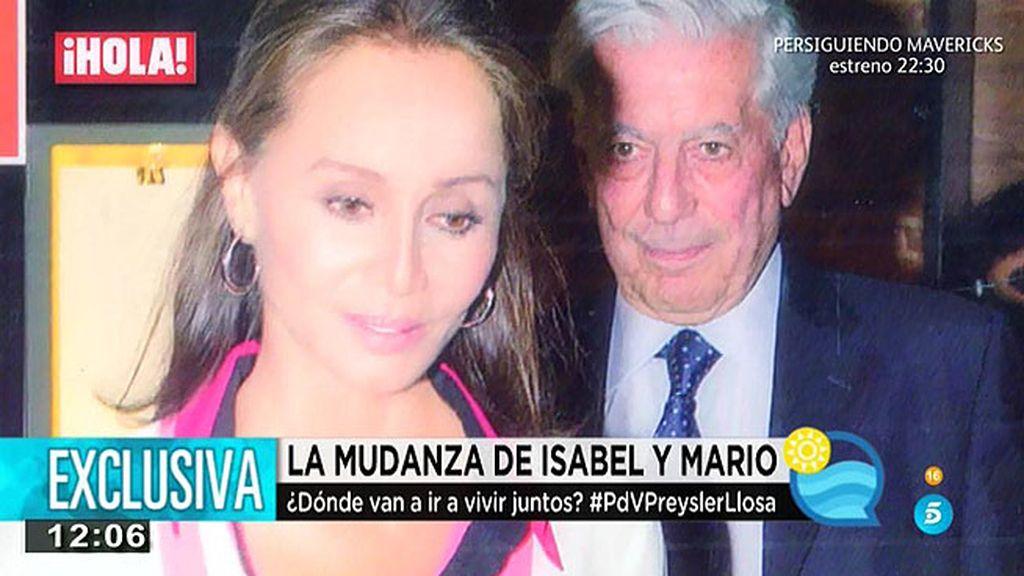 Isabel Preysler y Mario Vargas Llosa se van a vivir juntos, según, P. Barrientos