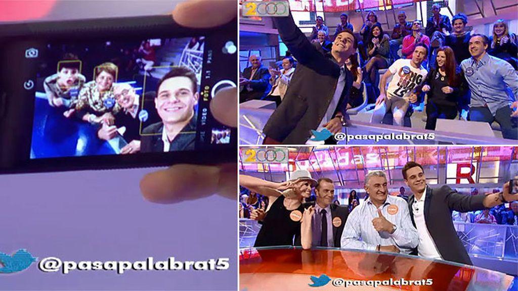 Los selfies de 'Pasapalabra'
