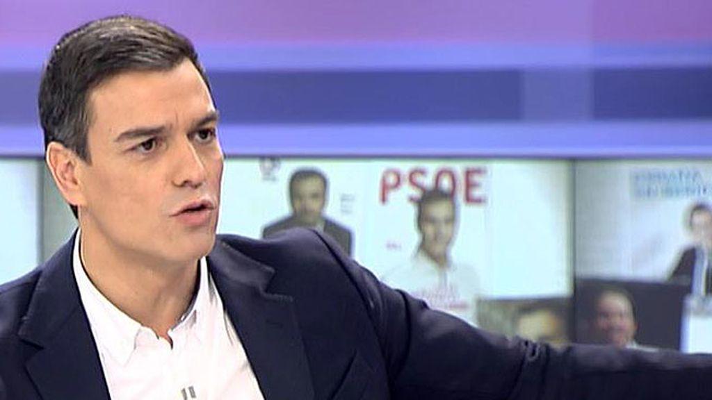 """Pedro Sánchez: """"Si no gana el PSOE para mí será un fracaso"""