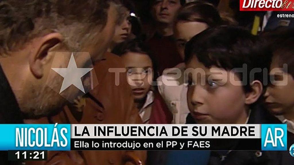 Así fue el debut del 'Pequeño Nicolás' ante los medios con apenas 10 años