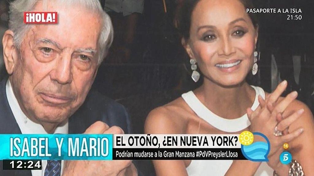 V. Llosa pospone el doctor Honoris Causa para acompañar a Isabel en la inauguración de la tienda de Porcelanosa en Nueva York