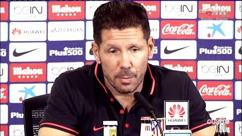 El Cholo Simeone quiere dar con la tecla para ganar al Barça en el banquillo